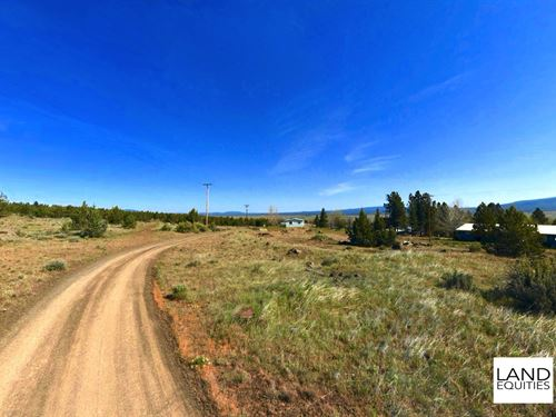 Bargain Priced Lot With Utilities : Bly : Klamath County : Oregon