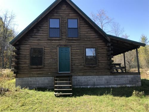 Pardeeville Lodge Near Hinckley Res : Russia : Herkimer County : New York