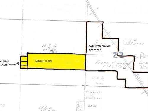 Goler Road in Randsburg Mining Prop : Randsburg : Kern County : California