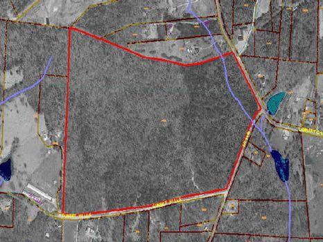 Large Rural Tract : Siler City : Chatham County : North Carolina