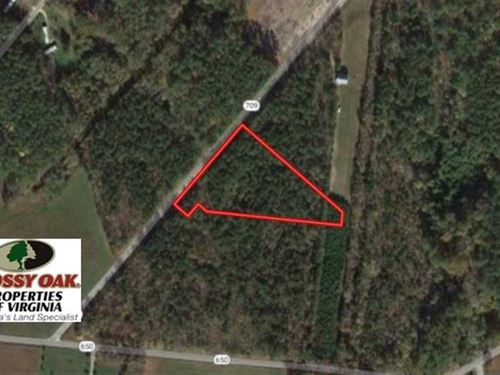 2.58 Acres of Residential Land : Cardinal : Mathews County : Virginia