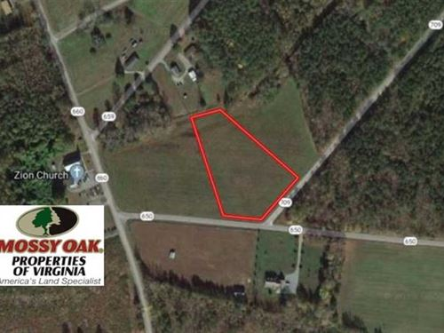 2.5 Acres of Residential Land : Cardinal : Mathews County : Virginia