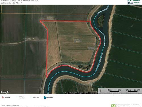 Riverfront Farmland Northern : Isleton : Sacramento County : California