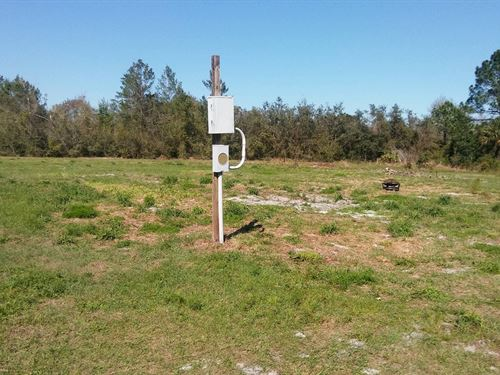 Agricultural Lot, Electric No 07 : Paisley : Lake County : Florida
