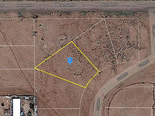 .13 Acre in Navajo County, AZ : Holbrook : Navajo County : Arizona