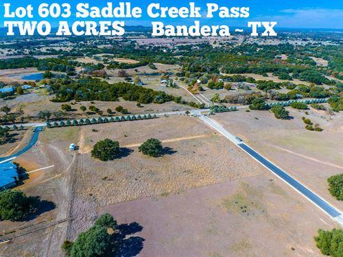 2.04 Acres in Bandera County : Bandera : Texas
