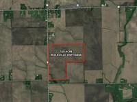120 Acres Rockville Township Farm : Manteno : Kankakee County : Illinois
