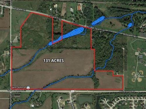 131 Acre Laraway Rd Development : Frankfort : Will County : Illinois