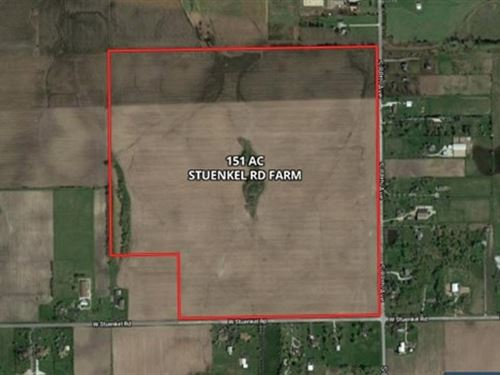 151 Acres Stuenkel & 88th Ave : Frankfort : Will County : Illinois