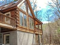 Log Home Hillsville VA Hunting : Hillsville : Carroll County : Virginia