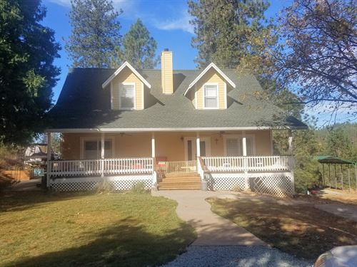 Country Home With Acreage For Sale : Garden Valley : El Dorado County : California