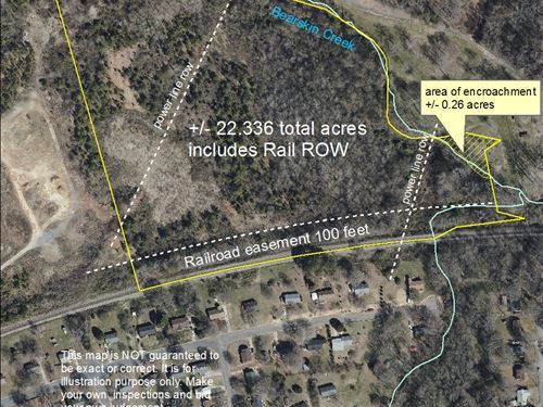 22.33+/- Acres in Monroe, NC : Monroe : Union County : North Carolina