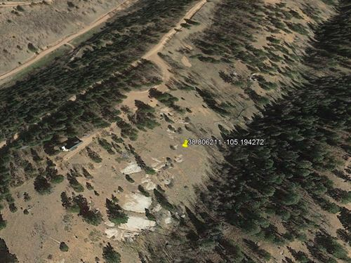 Majestic Mountainside Lot, No 290 : Cripple Creek : Teller County : Colorado