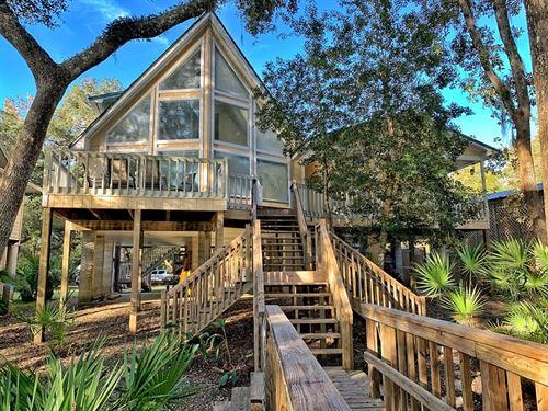 Suwannee River Waterfront Home : Branford : Lafayette County : Florida