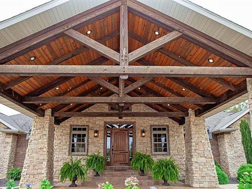 Custom Estate In The MO Ozarks : Mountain Grove : Wright County : Missouri