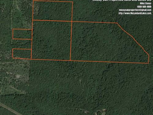 139 Acre Hunting And Recreation Pr : Camdenton : Camden County : Missouri