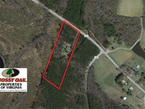 Under Contract, 6.64 Acres of Re : Dolphin : Brunswick County : Virginia