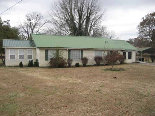 Home McNairy County Shop & Fenced : Selmer : McNairy County : Tennessee