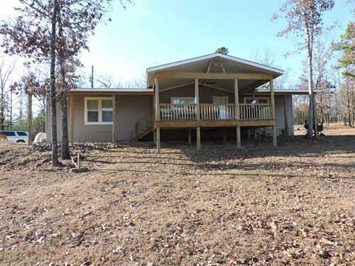 Secluded Country Home Land Mountain : Mena : Polk County : Arkansas