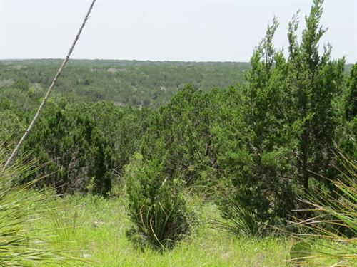 75 Acres Hill Country With Electric : Rocksprings : Edwards County : Texas