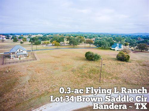 .31 Acres in Bandera County : Bandera : Texas