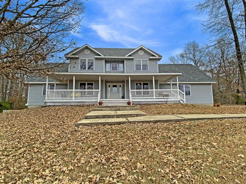 Secluded Country Estate : Mountain Grove : Wright County : Missouri