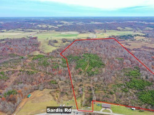 Sardis Rd, 99 Acres : Oak Hill : Jackson County : Ohio