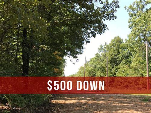 $500 Down on Private Rec Land : Ava : Douglas County : Missouri