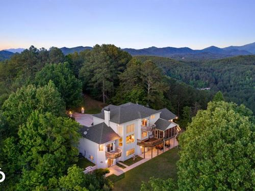 Mountain Top Dream Home With Acreag : Copperhill : Polk County : Tennessee