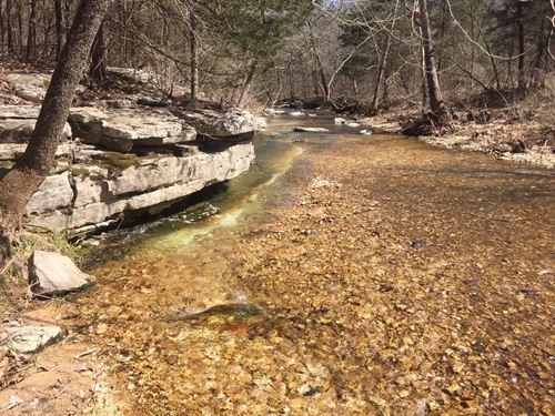 Tumbling Mountain Stream : Yellville : Marion County : Arkansas