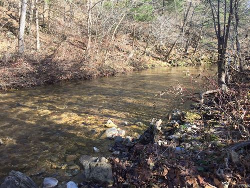 12 Acre Creek Side Getaway : Yellville : Marion County : Arkansas