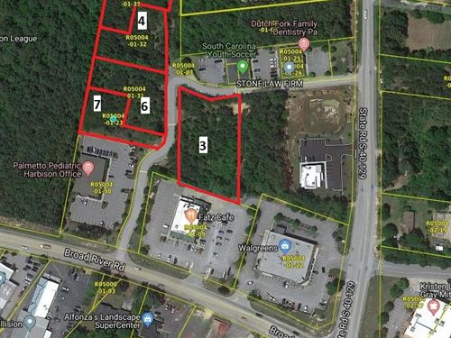 Professional Park Development Lots : Irmo : Richland County : South Carolina