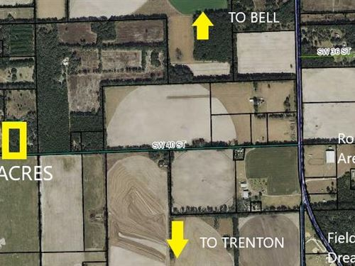 Land, Bell Trenton Gilchrist County : Bell : Gilchrist County : Florida
