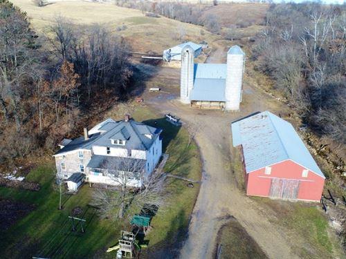 Hobby Farm Great Hunting Locations : Sheldon : Monroe County : Wisconsin