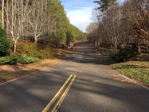 Mountain Lot For Sale in Pickens : Talking Rock : Pickens County : Georgia
