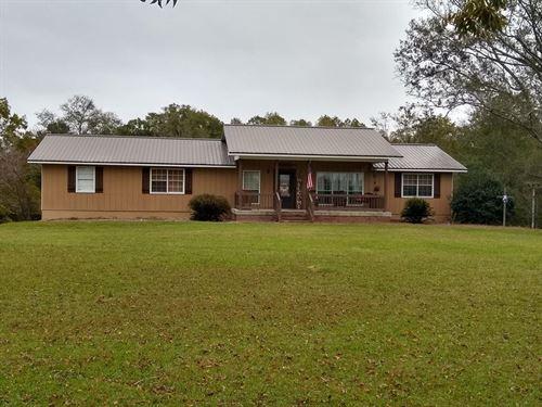 Peaceful, Country Living, 26 Acres : Jesup : Wayne County : Georgia