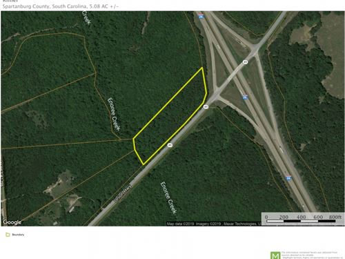 5.08 Acres At The Corner Of I-26 : Enoree : Spartanburg County : South Carolina