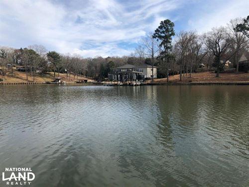 Wilson Lake Shores Water Front Prop : Muscle Shoals : Colbert County : Alabama