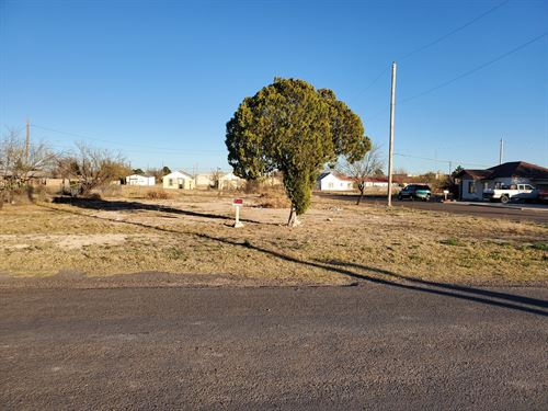 Lot For Sale In Ft, Stockton Texas : Fort Stockton : Pecos County : Texas