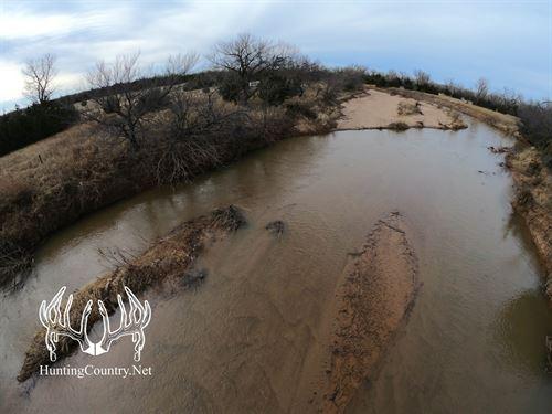 40 Acres M/L Salt Fork River : Alva : Woods County : Oklahoma