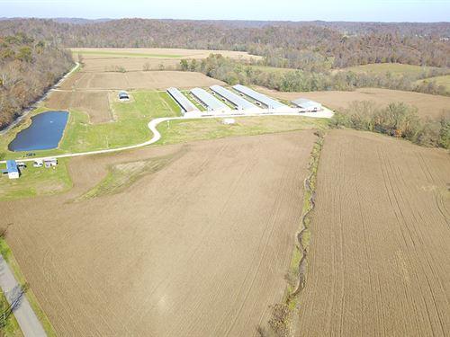 Egg Production Facility : Franklin Furnace : Scioto County : Ohio