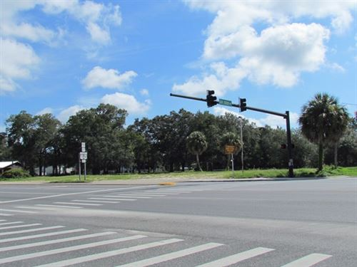 Reduced - Prime Commercial Lot : Chiefland : Levy County : Florida