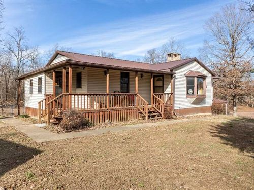 Residential Home For Sale on 5 Acr : Fairdealing : Ripley County : Missouri