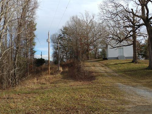 Land Shawsville, VA Church Building : Shawsville : Montgomery County : Virginia