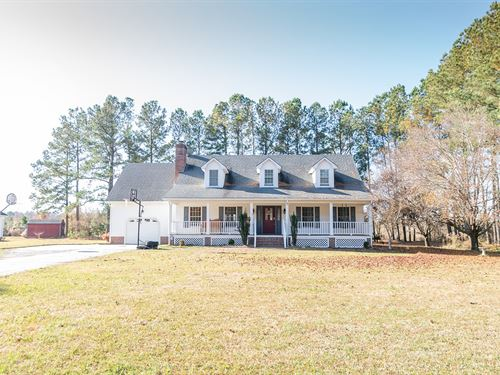 Country Home In Perquimans County : Hertford : Perquimans County : North Carolina
