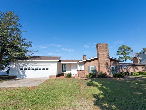 Albemarle Sound Front Home : Hertford : Washington County : North Carolina