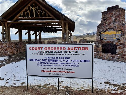 Court Ordered Auction of 37 Parcels : Malad City : Oneida County : Idaho
