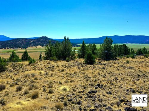 Secluded Location, Amazing Views : Chiloquin : Klamath County : Oregon