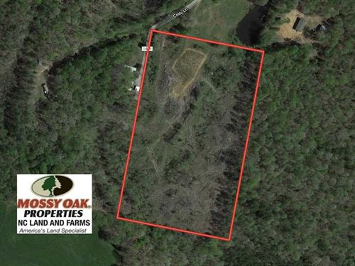 10 Acres of Residential And Huntin : Star : Moore County : North Carolina