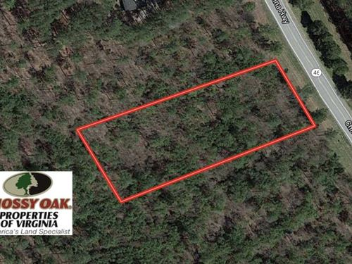 1.13 Acre Residential Lot For Sale : Alberta : Brunswick County : Virginia